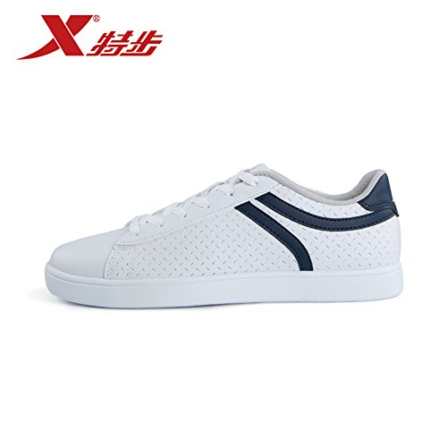XTEP 特步 特步男鞋板鞋2015新款春夏季男士运动板鞋轻便耐磨透气学生滑板鞋 985219313868