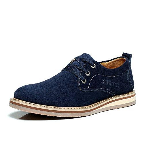 木林森 2014夏季新款 真皮日常休闲低帮鞋 英伦流行板鞋240001 男鞋