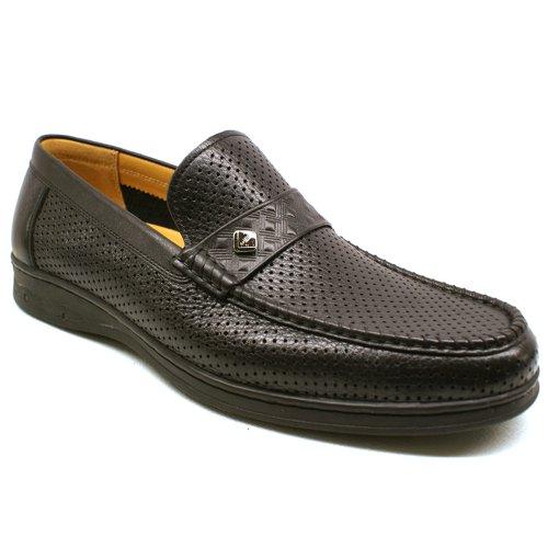 Goldlion 金利来 正品 免邮 牛皮 时尚经典套脚 透气镂空 凉鞋 洞洞鞋 英伦商务休闲男鞋 男士凉鞋
