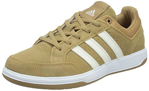 adidas 阿迪达斯 TENNIS CULTURE 男 网球鞋oracle VI STR Suede  S41870 纸板黄/粉白/白 44 (UK 10)