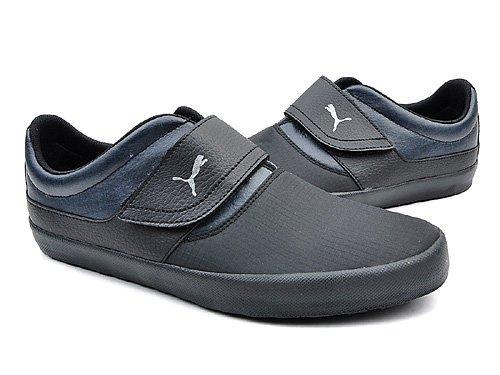 PUMA 彪马 自行车爱好者必备时尚反光标签新酷系列帆布鞋 男 帆布鞋 35451103 black
