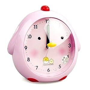 韩版超萌 创意可爱 卡通小鸡儿童闹钟 会说话的 懒虫起床闹钟 带