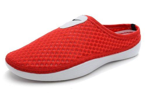 Nike 耐克 夏季新款透气拖鞋男女凉鞋 鸟巢休闲运动凉拖鞋 海鸥鞋城 红白