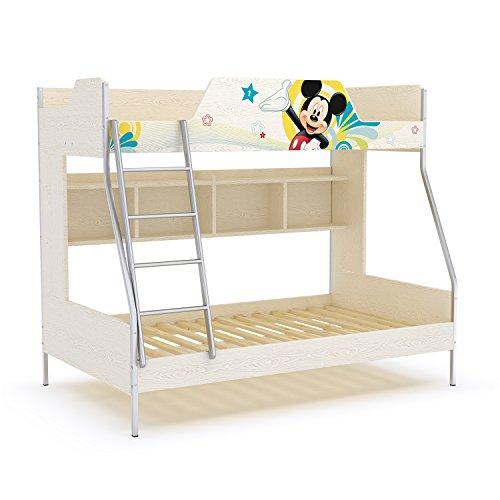 2米高低床儿童床(金属架)不带梯柜拖箱(500城区包安装)(厂商直送)
