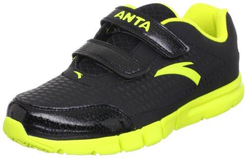 ANTA 安踏 跑步系列 男童 跑步鞋 黄绿/黑色 36 31245516-3