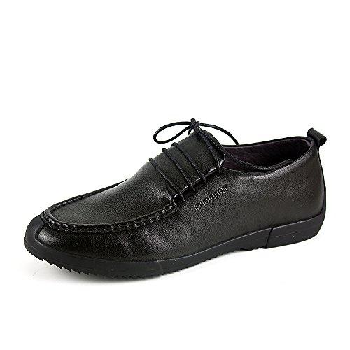 PLO·CART保罗盖帝男鞋 正品真皮软皮软底皮鞋防撞头男士休闲皮鞋