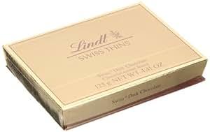 Lindt瑞士莲瑞士经典薄片黑巧克力125g (瑞士进口)