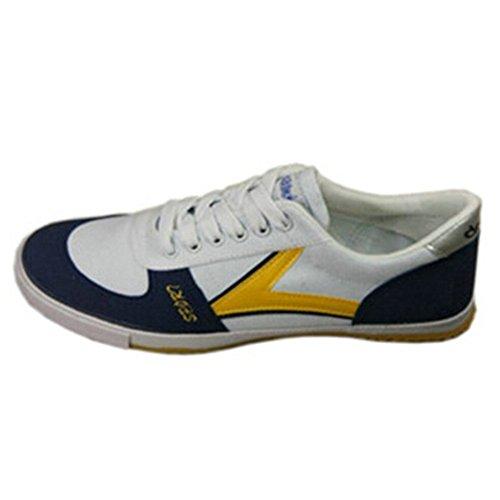 双星 高级乒乓球鞋 乒乓球鞋 男式运动鞋白黄S251