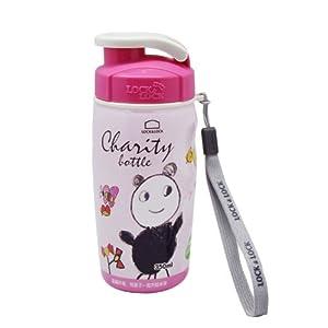 凑单品 lock&lock 乐扣乐扣 儿童彩绘手提运动水壶(粉)HPP726PC      9元