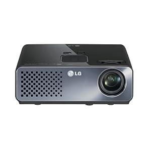LG HW300TC-JE 便携式数码光显投影机(黑色 仅重780g LDE30000小时超长寿命 USB视频播放 文档演示 HDMI 可看电视 超便携)