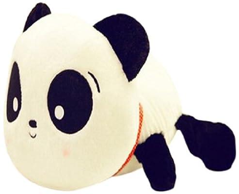 超可爱趴趴款大头熊猫公仔毛绒玩具