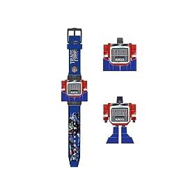 正品Hasbro孩之宝变形金刚擎天柱电子手表    49元包邮