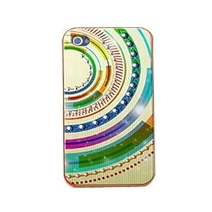 手机工坊iPhone 4S/4 外壳水钻 苹果4代手机套 保护壳 时空隧道