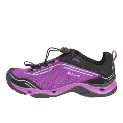 Kolumb 哥仑步 阿拉若女子户外运动徒步鞋403343 紫色