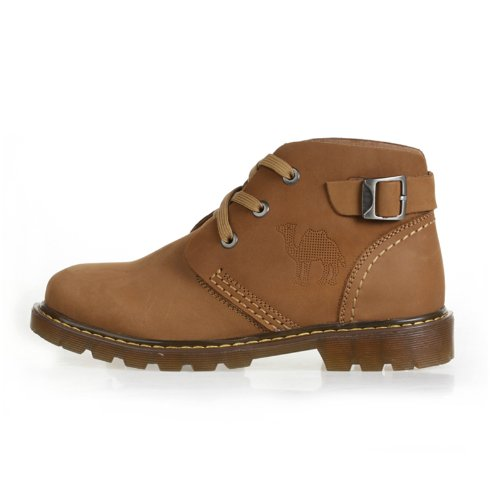 Cantorp 美国骆驼CANTORP正品 男鞋户外防滑高帮 头层牛皮休闲皮鞋 D13353