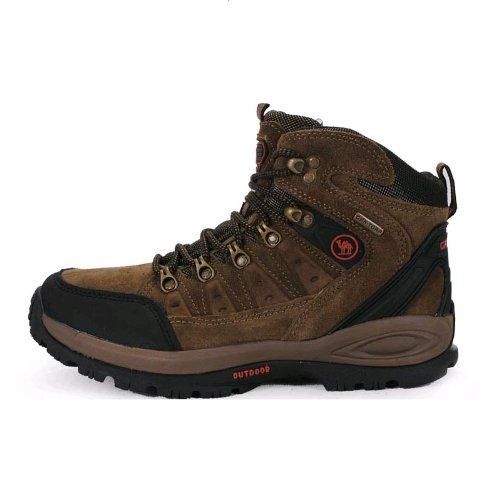 Cantorp 最新冬款骆驼CANTORP骆驼户外鞋 男士高帮保暖户外登山鞋B14002