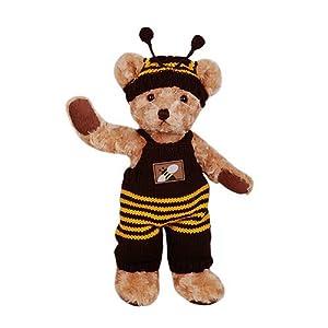 经典的版型加上精美的服饰搭配使他们成为 了泰迪熊家族中的精品熊