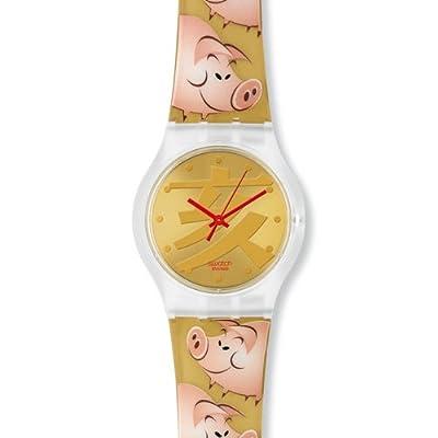 Часы swatch с эмбрионом
