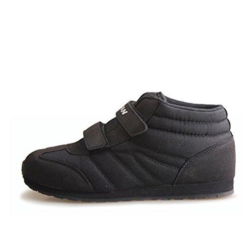 DOUBLE STAR 双星 生活休闲棉鞋情侣保暖鞋高帮鞋轻便魔术贴加棉DSA737