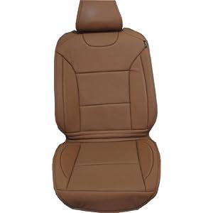 cartion 卡迩森 专车专用真皮坐垫 (雪铁龙c5) 棕色