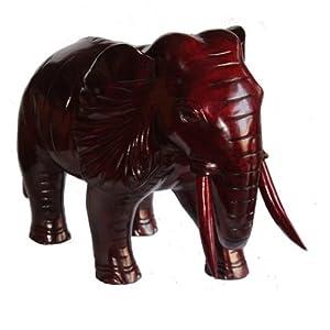 红木工艺品*大象*吉祥如意*木雕动物*风水摆件*开业礼品