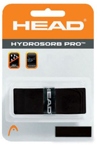 HEAD Hydrosorb Pro Tennis replacement Grip, Black