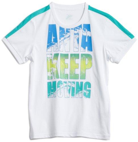 ANTA Kids 安踏 热情沙滩 短袖针织衫 男童 35223168