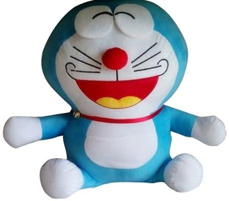 叮当猫公仔 多啦a梦布娃娃玩偶 生日礼物抱枕 大笑 大号