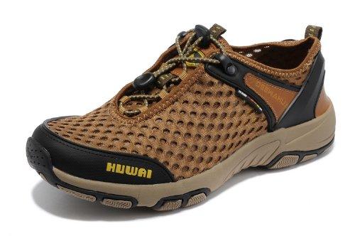 DEEWAHUA 户外网布休闲鞋 透气速干溯溪鞋 涉水鞋 耐磨防滑登山鞋 徒步鞋 男鞋