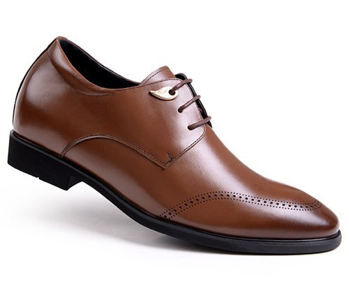 GOG(高哥) 高哥增高皮鞋WZ457  正装内增高6.5cm新款结婚男鞋