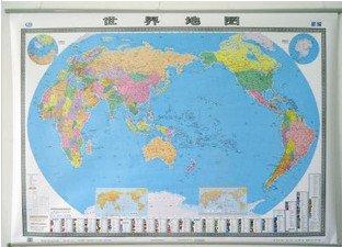 2013世界地图挂图1.5X1.1米中英文 精品 防水 双面覆膜 整张.pdf