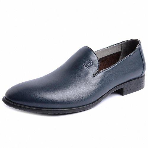 Montagut 梦特娇 2014春季款男鞋 专柜潮流套脚商务牛皮鞋A4112010