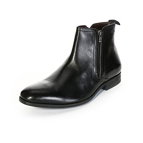 Clarks 男 踝靴Banfield Zip 261109308(供应商直送)