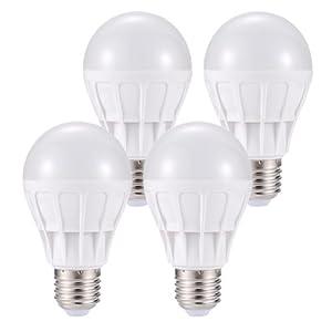 THTF 清华同方 轻巧条纹系列LED球泡灯 E27接口 3W 白光 4个装¥49