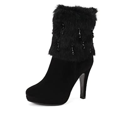 短靴女士时装靴雪地靴皮鞋棉鞋子