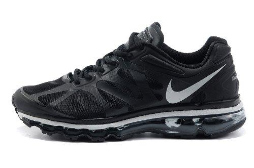 Nike 耐克 Air Max 2012 系列 后掌气垫 网面 透气 缓震 抓地 男子休闲运动鞋 487982-001