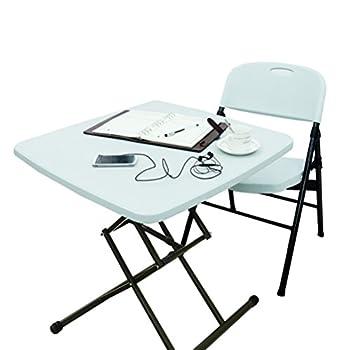 LUHUA 路华 710 折叠桌椅套餐(1桌1靠背椅)