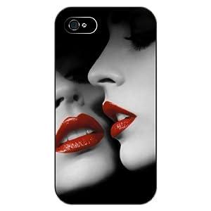 印花设计系列之:红唇女郎 iphone 5/5s图片