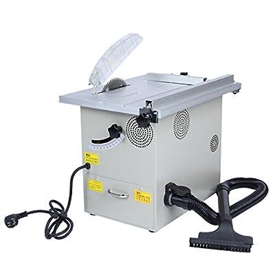 凯德龙 多功能迷你木地板切割机 无尘锯小台锯木工据木材切割机倒角锯