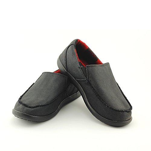 Crocs 卡骆驰 格子圣克鲁兹浪人棉面保暖休闲鞋 11749 男款帆布鞋 (附带Crocs原厂挂钩及纺织袋) Crocs卡骆驰旗舰店