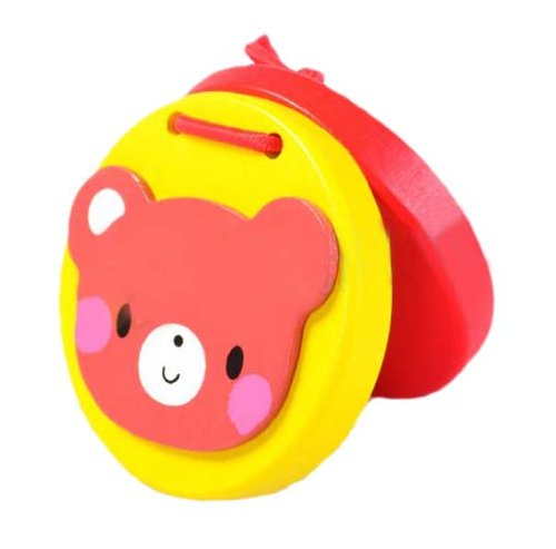 回至logwood 乐木 婴幼儿玩具木制卡通动物响板打板早教益智玩具6款随