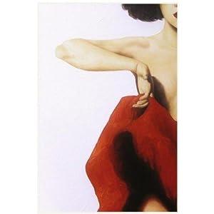 红裙子女孩之一,高档纯手绘无框油画