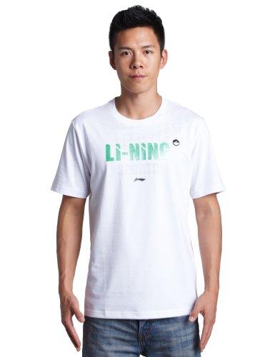 Li Ning 李宁 都市星熠(Urban shine)男式 短袖文化衫 AHSG153