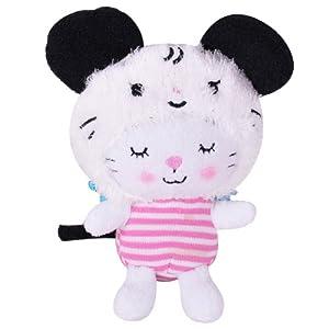 汉祥正版可爱15cm扮装生肖狗天使猫咪挂件毛绒玩具新年礼物生日礼品女