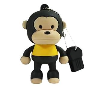 oae 卡通猴子4gu盘可爱创意 站姿猴u盘4g优盘迷你 4g