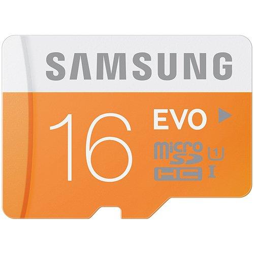 Samsung三星 Evo版 16g存储卡¥49 买两张-20= ¥79.8
