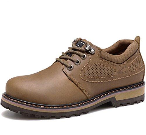 CAMEl ACTlVE 英伦系带复古真皮低帮马丁鞋 牛皮大头工装鞋 经典商务休闲鞋 百搭皮鞋 户外男鞋子