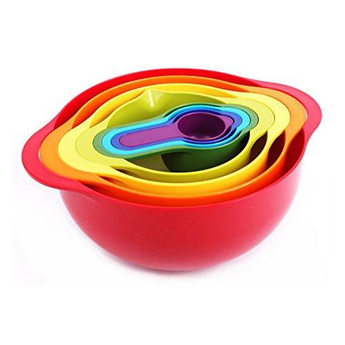 Joseph Joseph 彩虹八红色厨房套具¥239.5