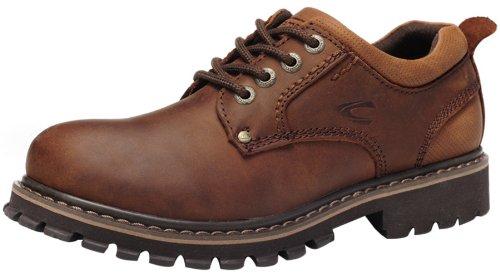 Camel 骆驼 冬季磨砂牛皮户外休闲鞋 英伦潮流时尚男士皮鞋