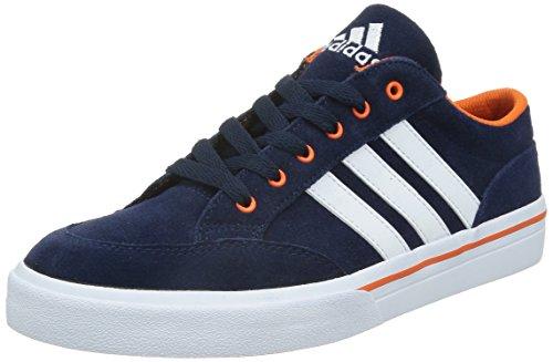 adidas 阿迪达斯 TENNIS CULTURE 男 网球鞋GVP SUEDE  M17975 学院藏青蓝/白/橙黄 39.5 (UK 6-)
